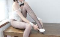 微博少女森萝财团兔女郎黑丝148P+1V
